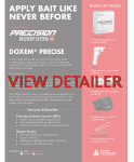 PDS and Doxem Detailer